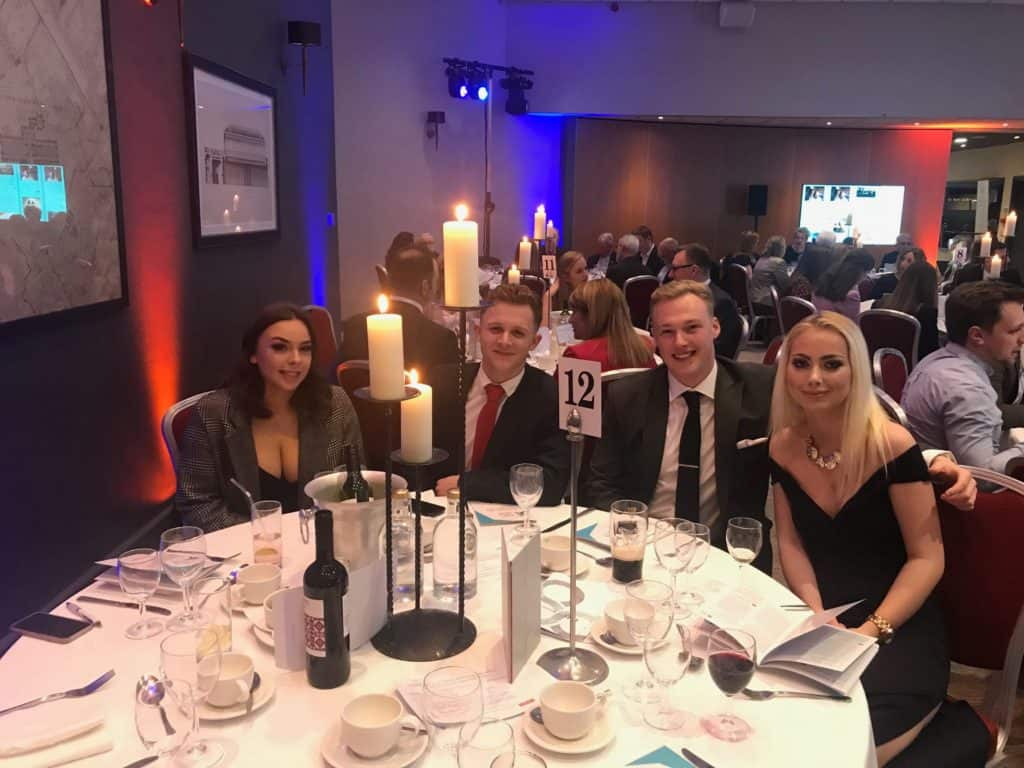 The Beanie Media Team at the FSB Awards Ceremony