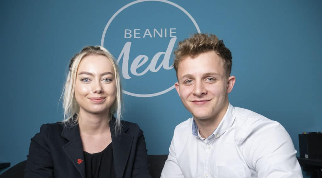 Web Design Experts Melissa and Dan in Huddersfield based office